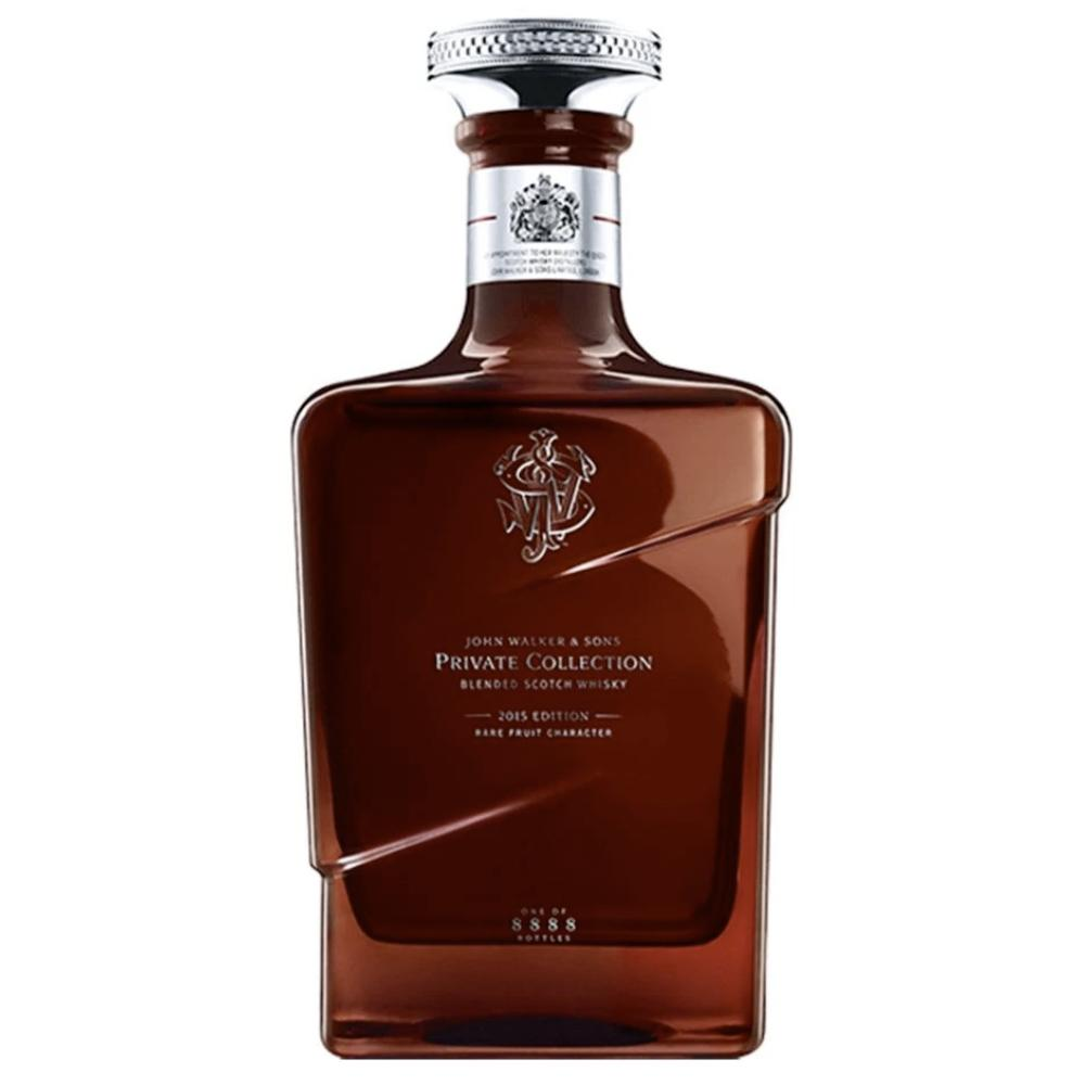 John Walker & Sons Private Collection 2015 Scotch Johnnie Walker