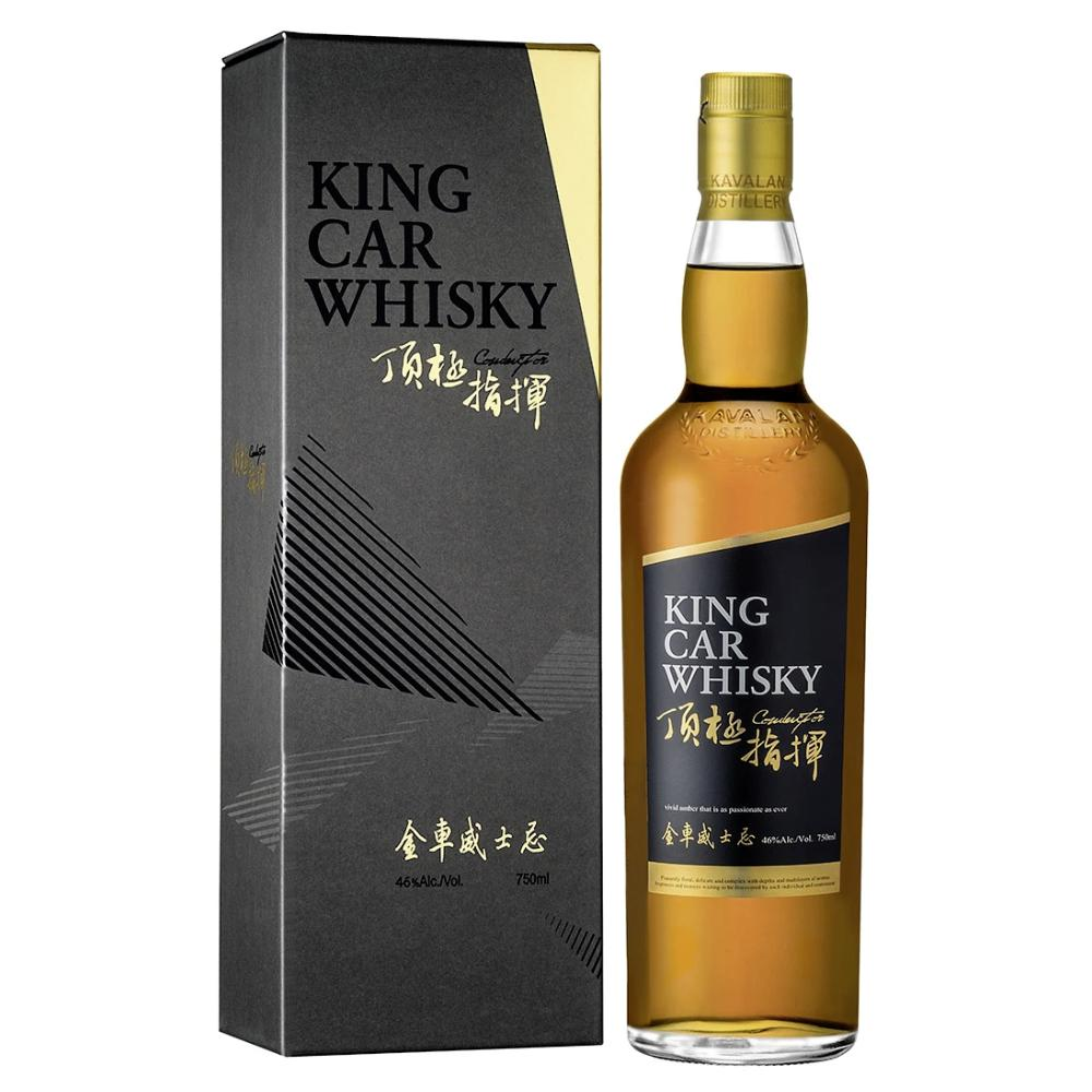Kavalan King Car Conductor Single Malt Taiwanese Whisky Kavalan