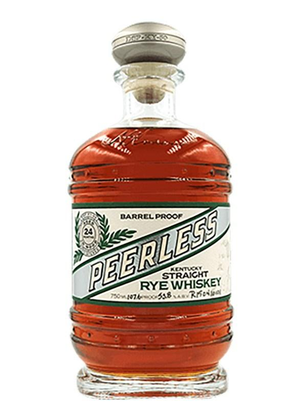 Kentucky Peerless Barrel Proof 2 Year Old Rye Whiskey 200ml Rye Whiskey Kentucky Peerless