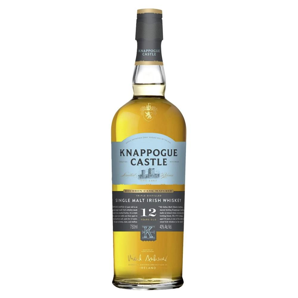 Knappogue Castle Single Malt 12 Year Old Irish whiskey Knappogue