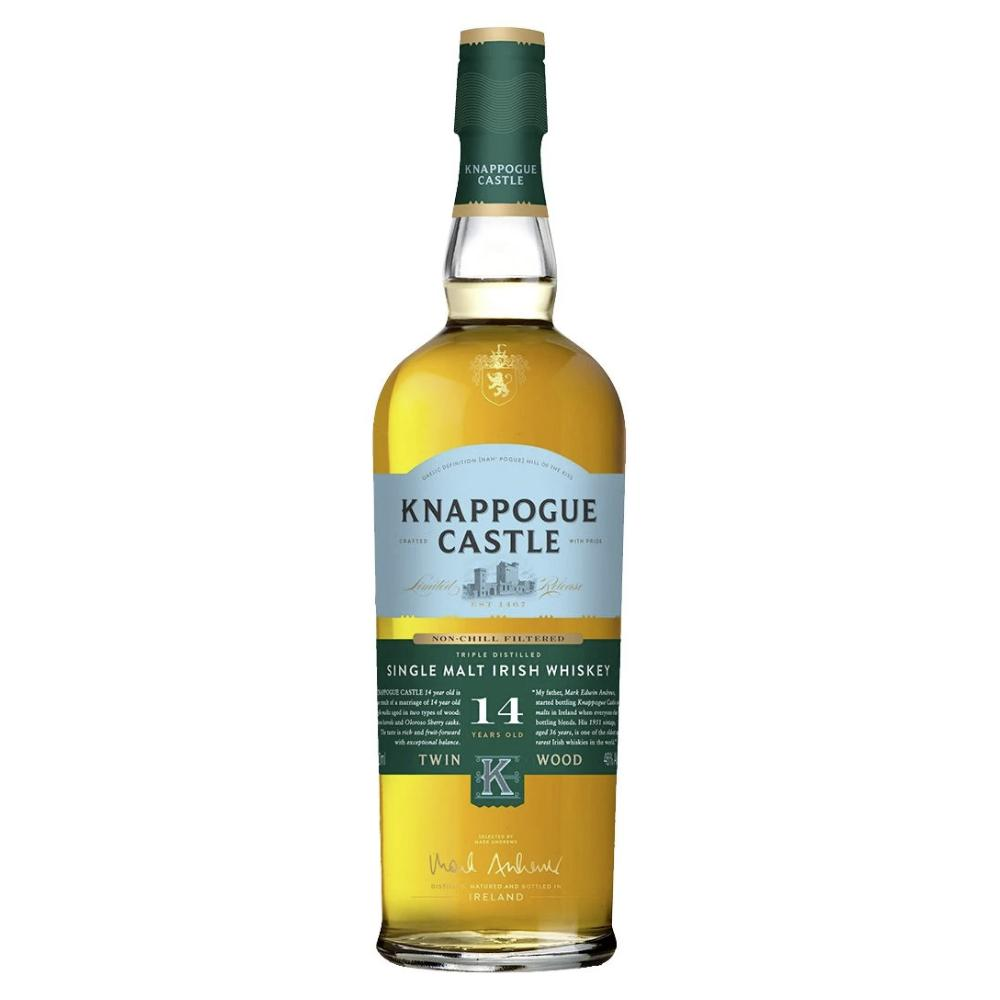 Knappogue Castle Single Malt 14 Year Old Irish whiskey Knappogue