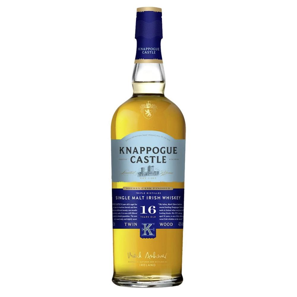 Knappogue Castle Single Malt 16 Year Old Irish whiskey Knappogue