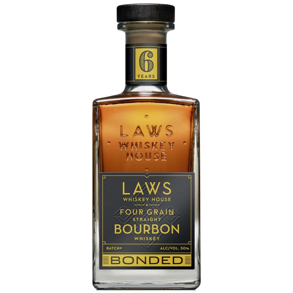 Laws Four Grain Straight Bourbon Bottled in Bond 6 Year Bourbon Laws Whiskey House
