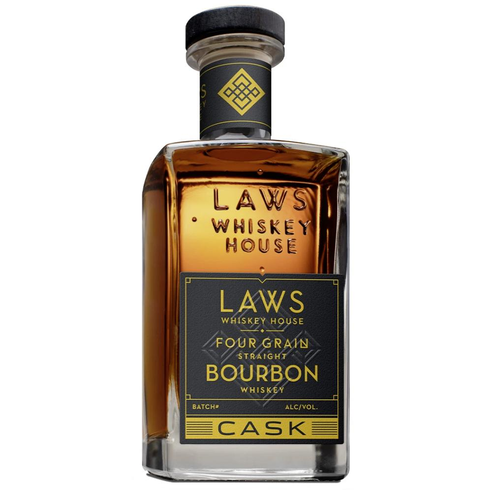 Laws Four Grain Straight Bourbon Cask Strength Bourbon Laws Whiskey House