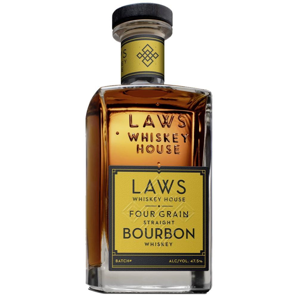 Laws Four Grain Straight Bourbon Bourbon Laws Whiskey House