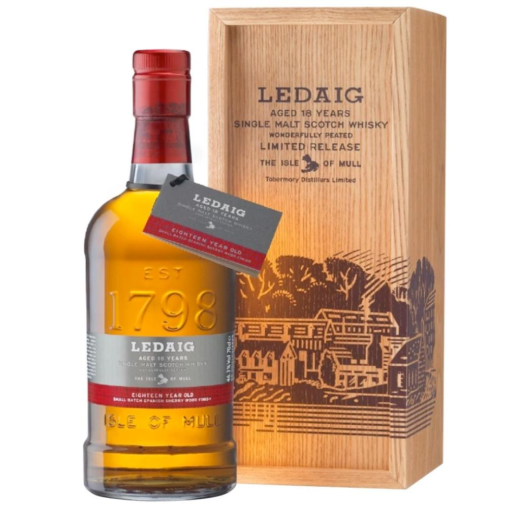 Ledaig 18 Year Old Scotch Tobermory Distillery