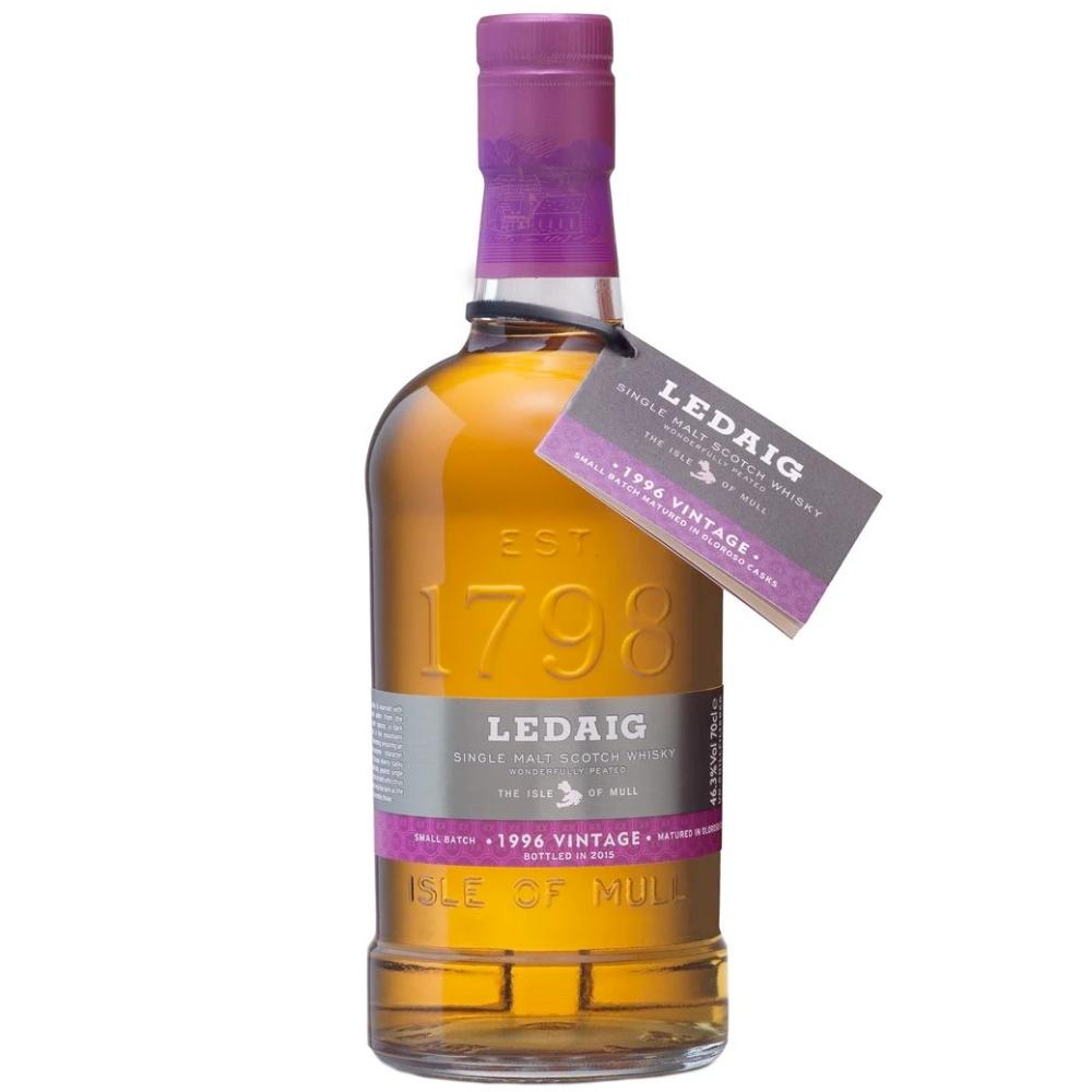 Ledaig 1996 Vintage 19 Year Old Scotch Tobermory Distillery