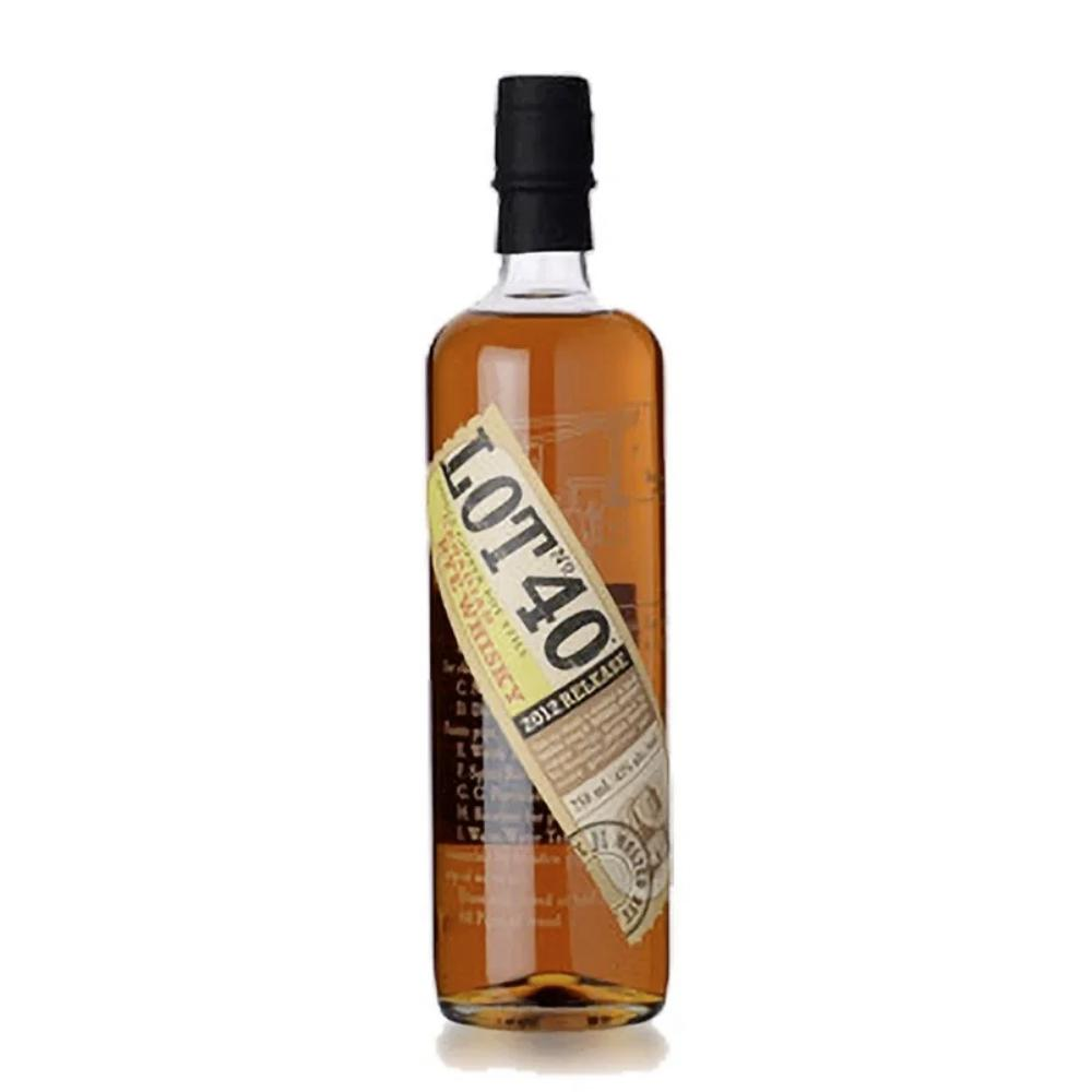 Lot 40 Canadian Rye Whiskey 2012 Canadian Whisky Lot No. 40