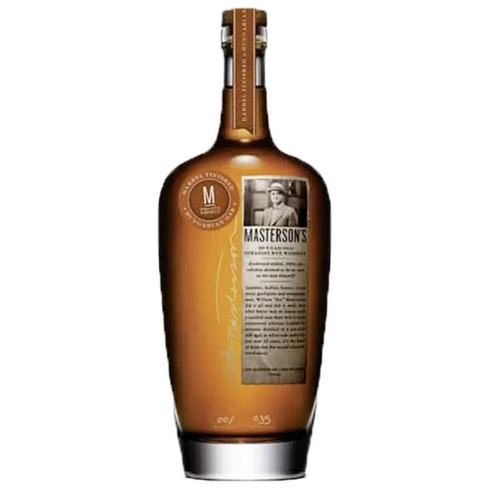 Masterson's Hungarian Oak 10 Year Old Rye Rye Whiskey Masterson's