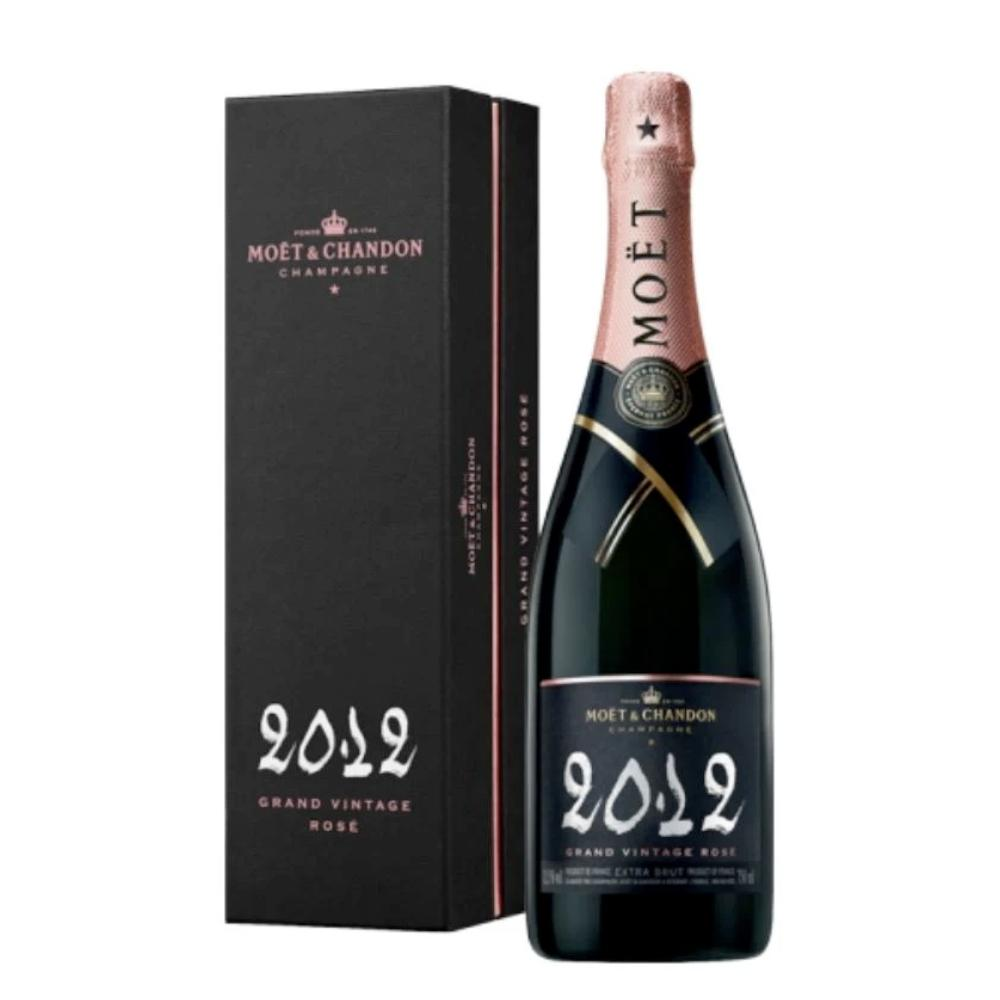 Moët & Chandon Grand Vintage Rosé 2012 Gift Box Champagne Moët & Chandon