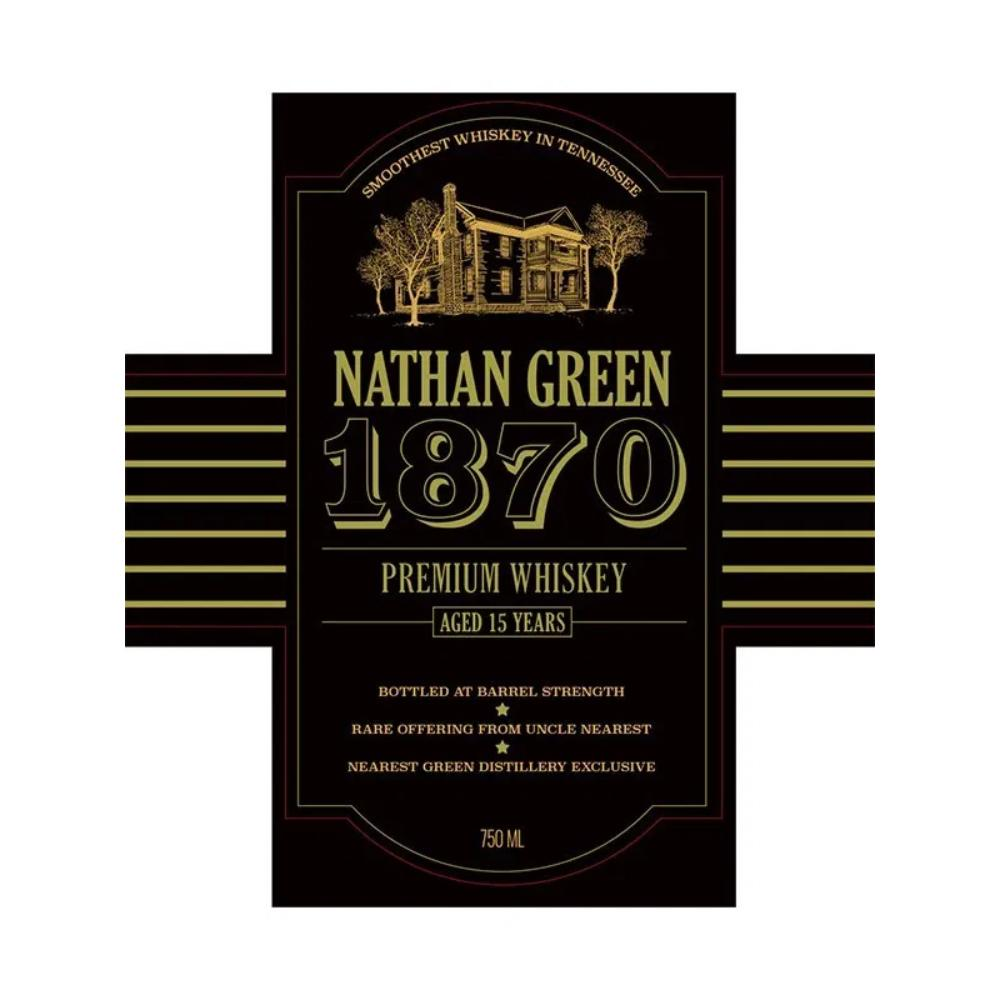 Nathan Green 1870 15 Year Old American Whiskey Uncle Nearest