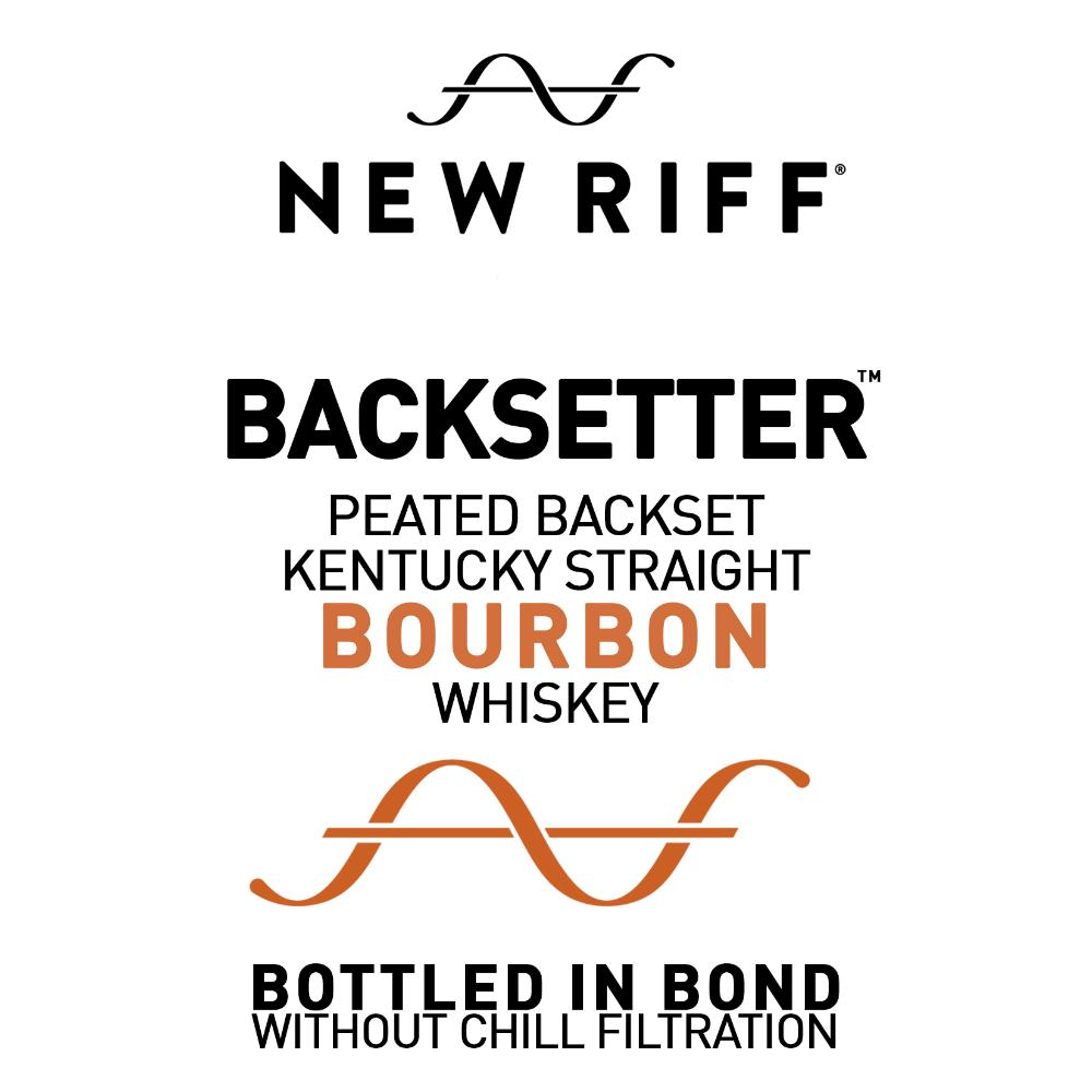 New Riff Backsetter Peated Backset Bourbon Rye Whiskey New Riff Distilling