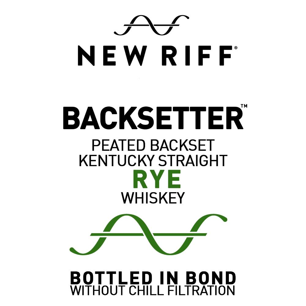 New Riff Backsetter Peated Backset Rye Whiskey Rye Whiskey New Riff Distilling