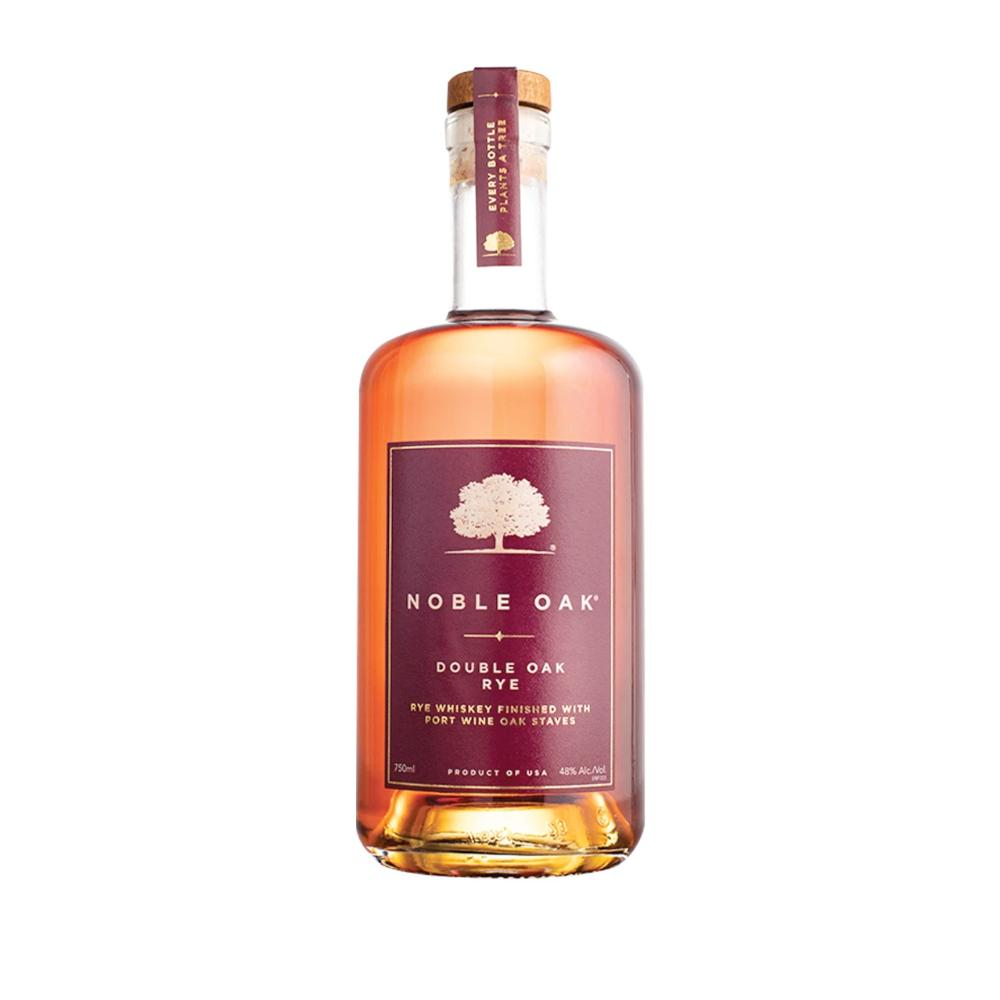 Noble Oak Double Oak Rye Rye Whiskey Noble Oak