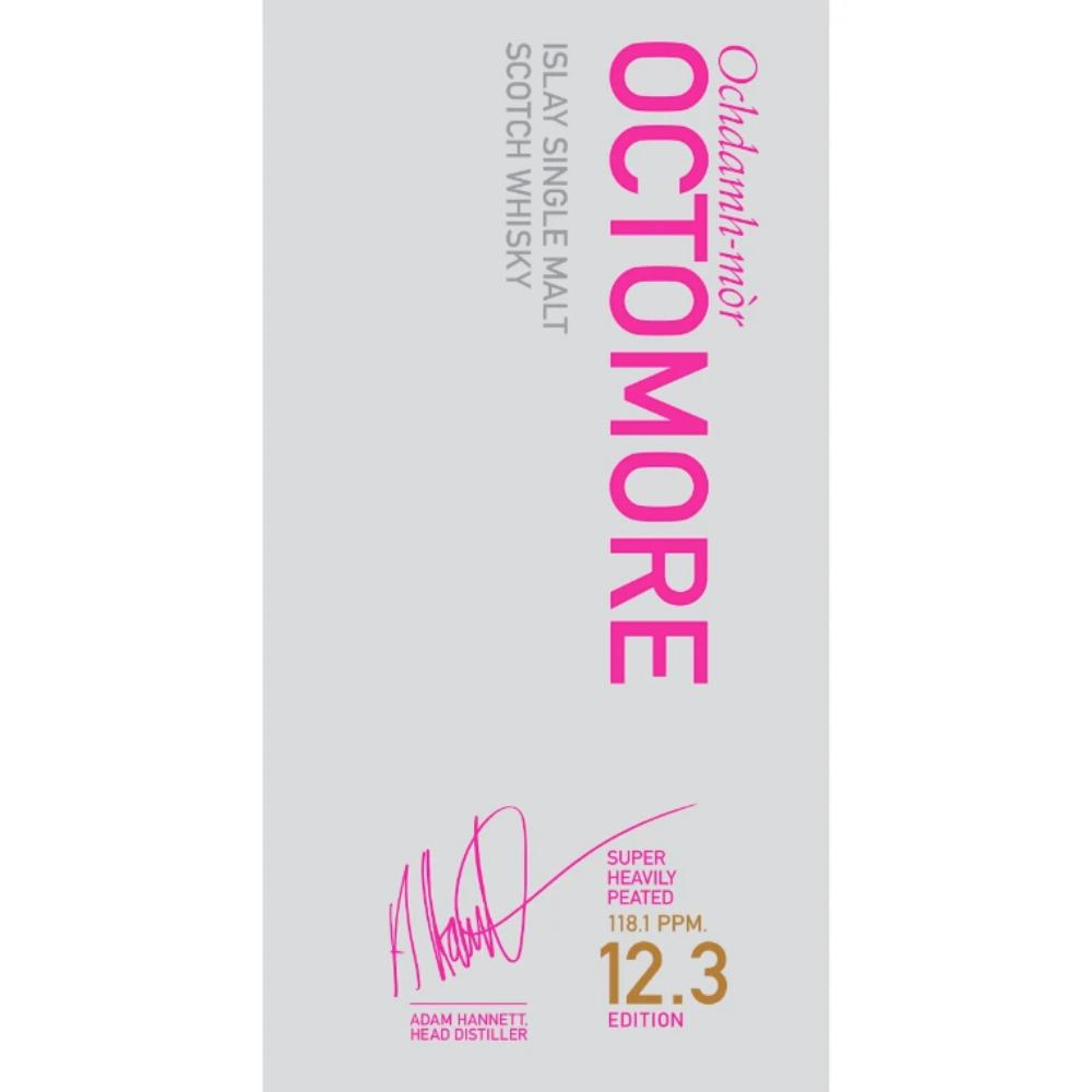 Octomore 12.3 Super Heavely Peated 2021 Edition Scotch Octomore