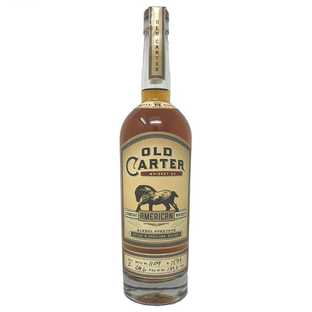 Old Carter 12 Year American Whiskey Batch 3 Bourbon Old Carter
