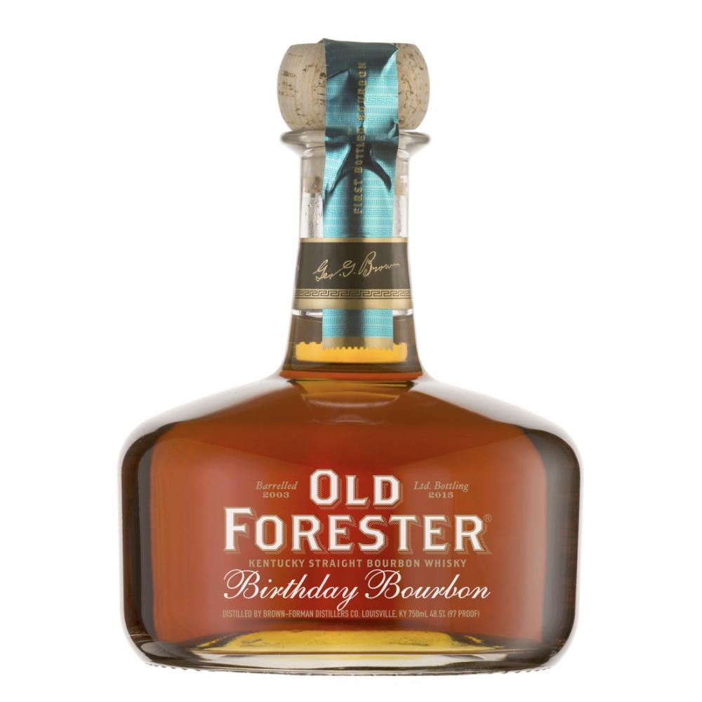 Old Forester 2015 Birthday Bourbon Bourbon Old Forester