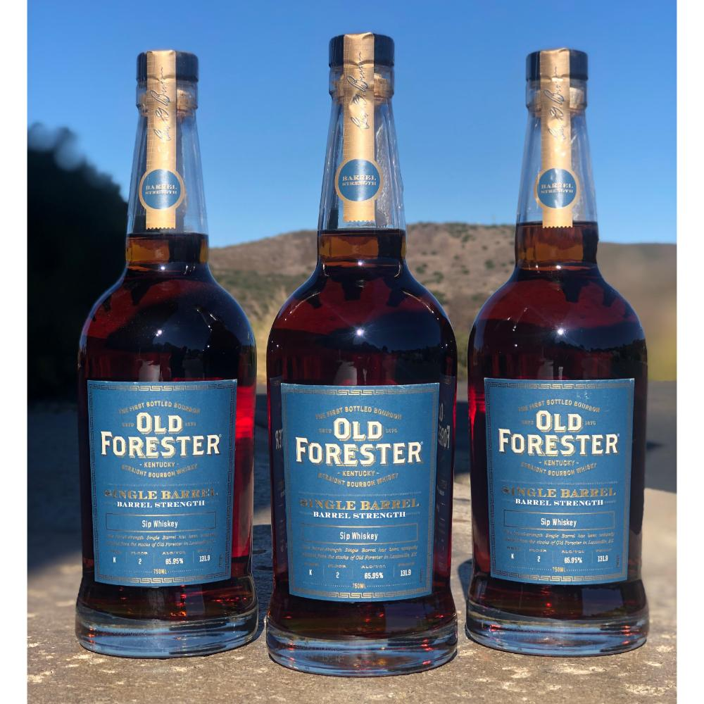 Old Forester Single Barrel Barrel Strength Bourbon Old Forester