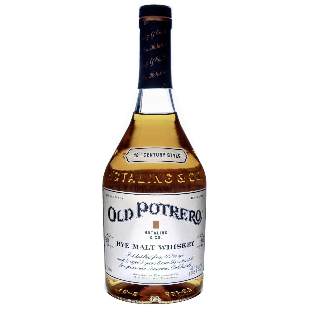 Old Potrero 18th Century Style Whiskey Rye Whiskey Old Potrero