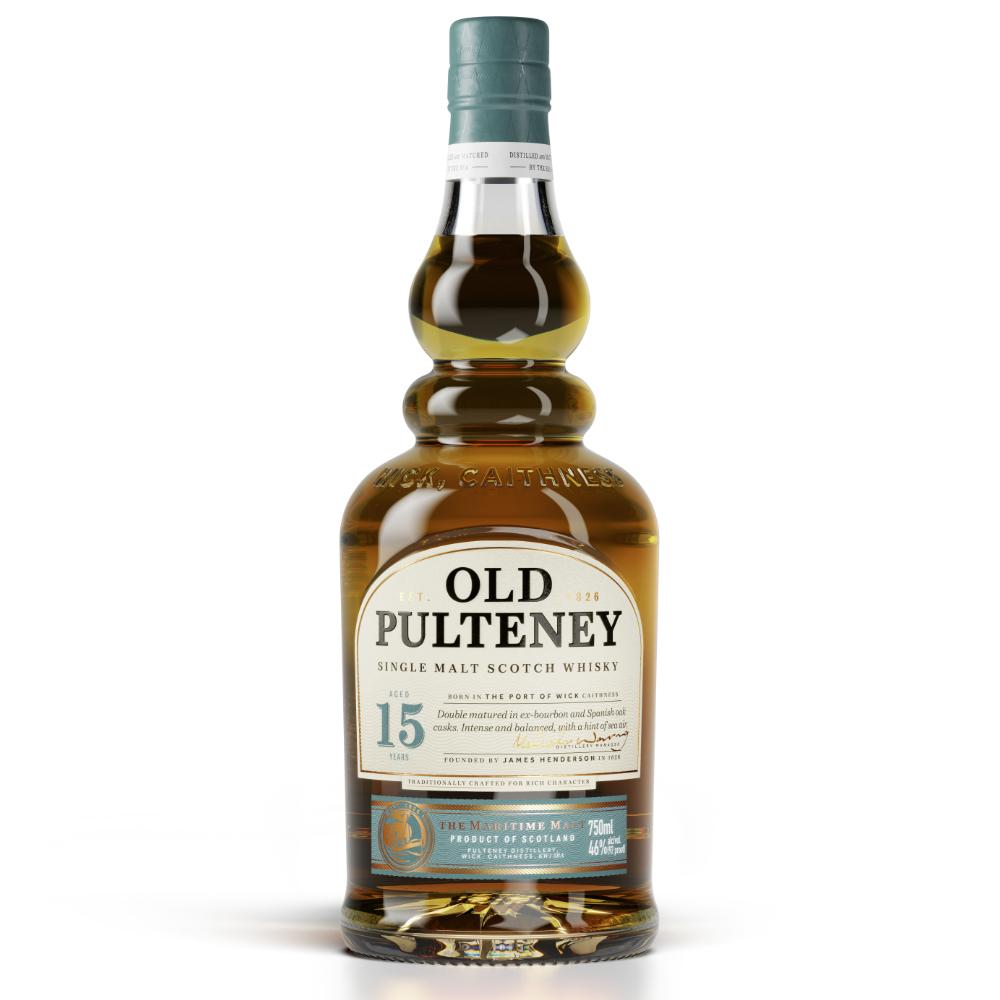 Old Pulteney 15 Year Old Scotch Scotch Old Pulteney