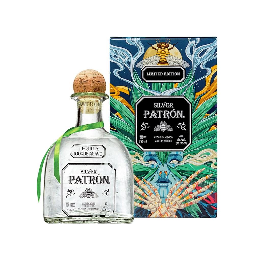 Patrón Silver Limited-Edition Mexican Heritage Tin 2020 Tequila patron