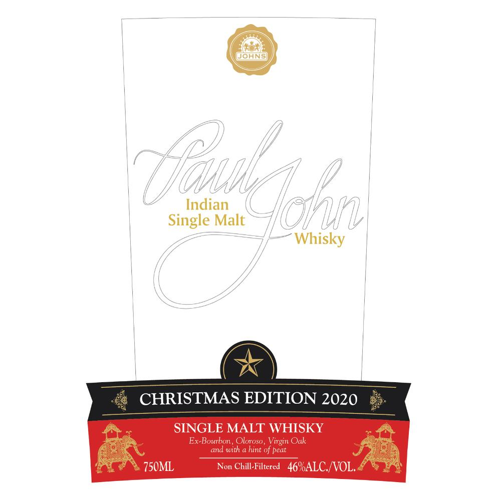 Paul John Christmas Edition 2020 Whisky Paul John Whisky
