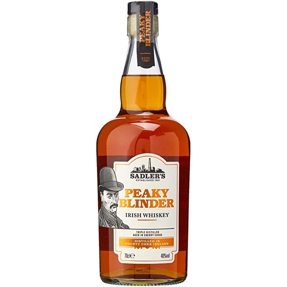 Peaky Blinder Irish Whiskey Irish whiskey Sadler's