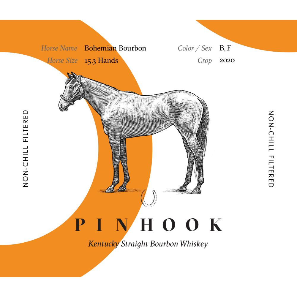 Pinhook Bohemian Bourbon 2020 American Whiskey Pinhook Bourbon