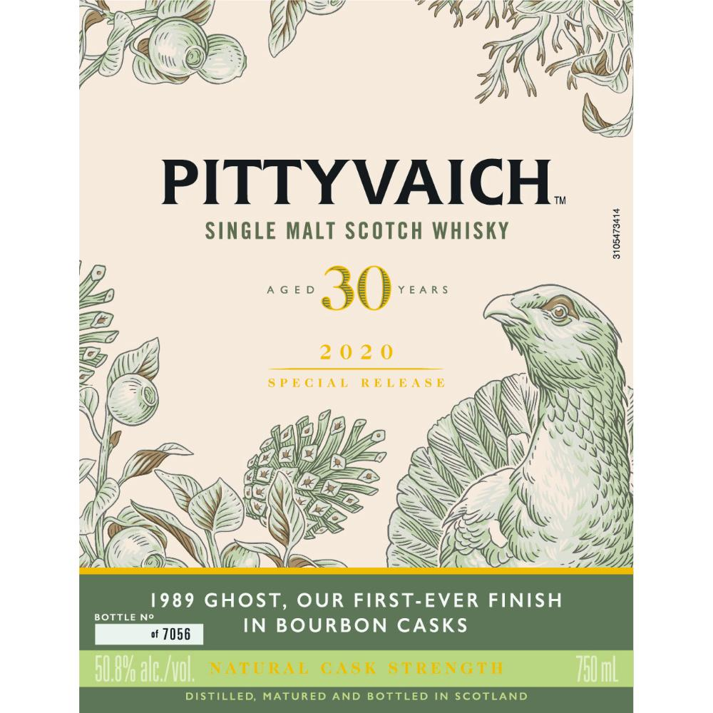 Pittyvaich 30 Year Old 2020 Special Release Scotch Pittyvaich