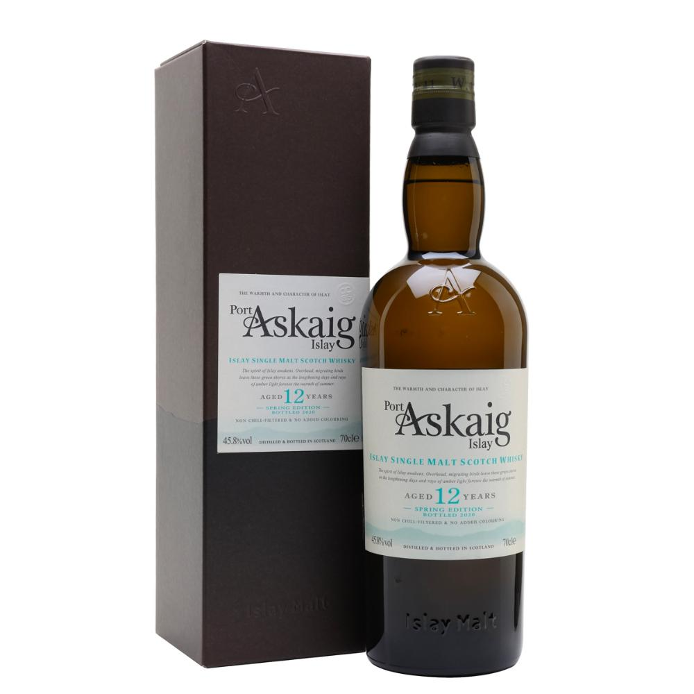 Port Askaig 12 Years Old Spring Edition Scotch Port Askaig