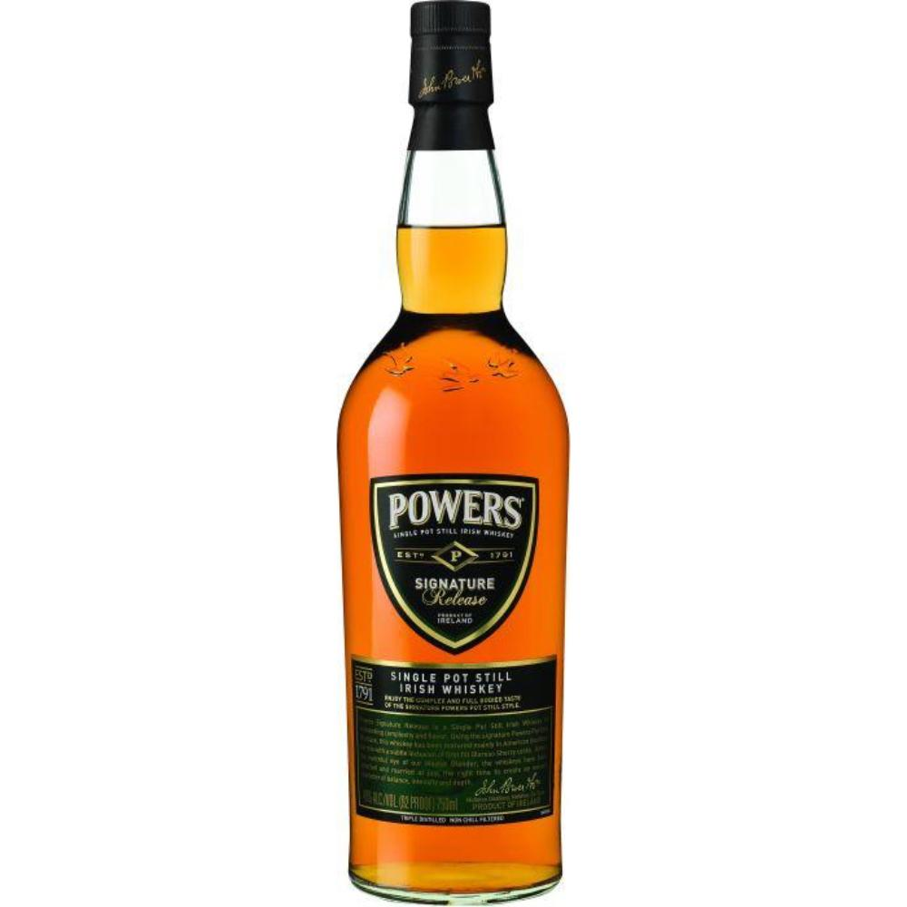 Powers Signature Release Irish Whiskey Irish whiskey Powers Irish Whiskey