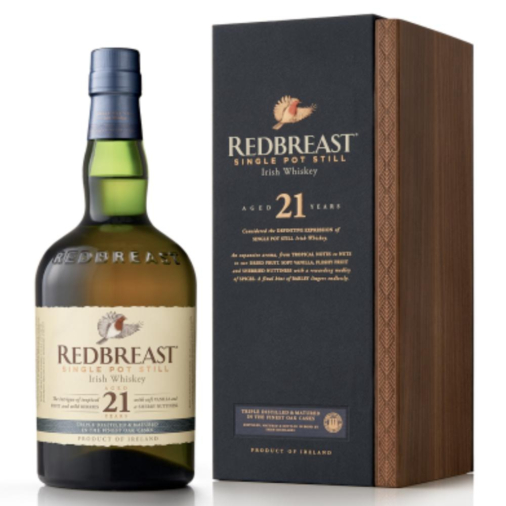 Redbreast 21 Year Old Irish whiskey Redbreast