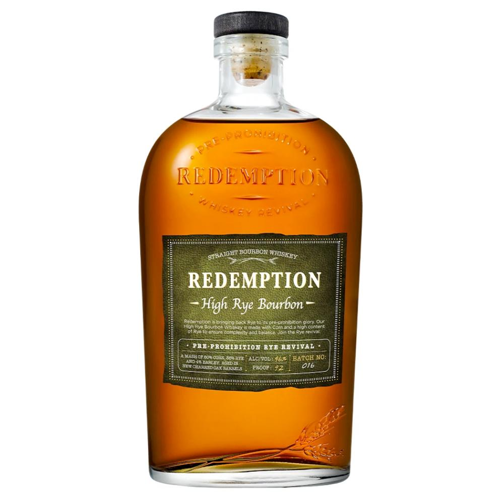 Redemption High Rye Bourbon Whiskey Bourbon Redemption