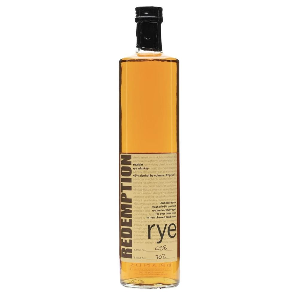 Redemption Rye Rye Whiskey Redemption