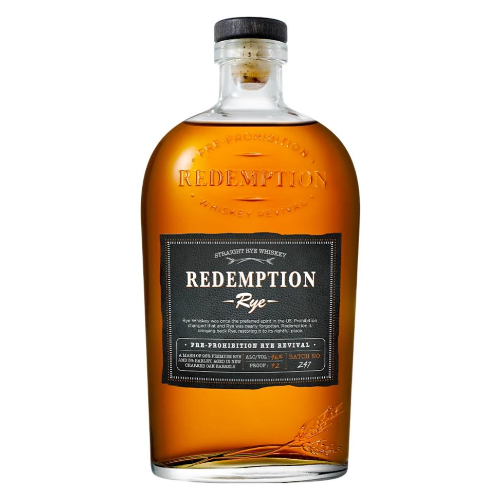 Redemption Rye Whiskey Rye Whiskey Redemption