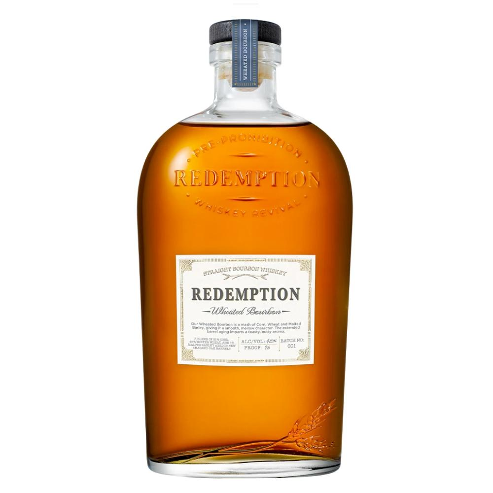 Redemption Wheated Bourbon Whiskey Bourbon Redemption