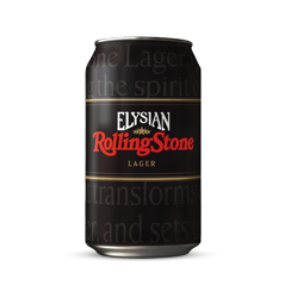 Elysian Rolling Stone Lager Beer Elysian Brewing Company