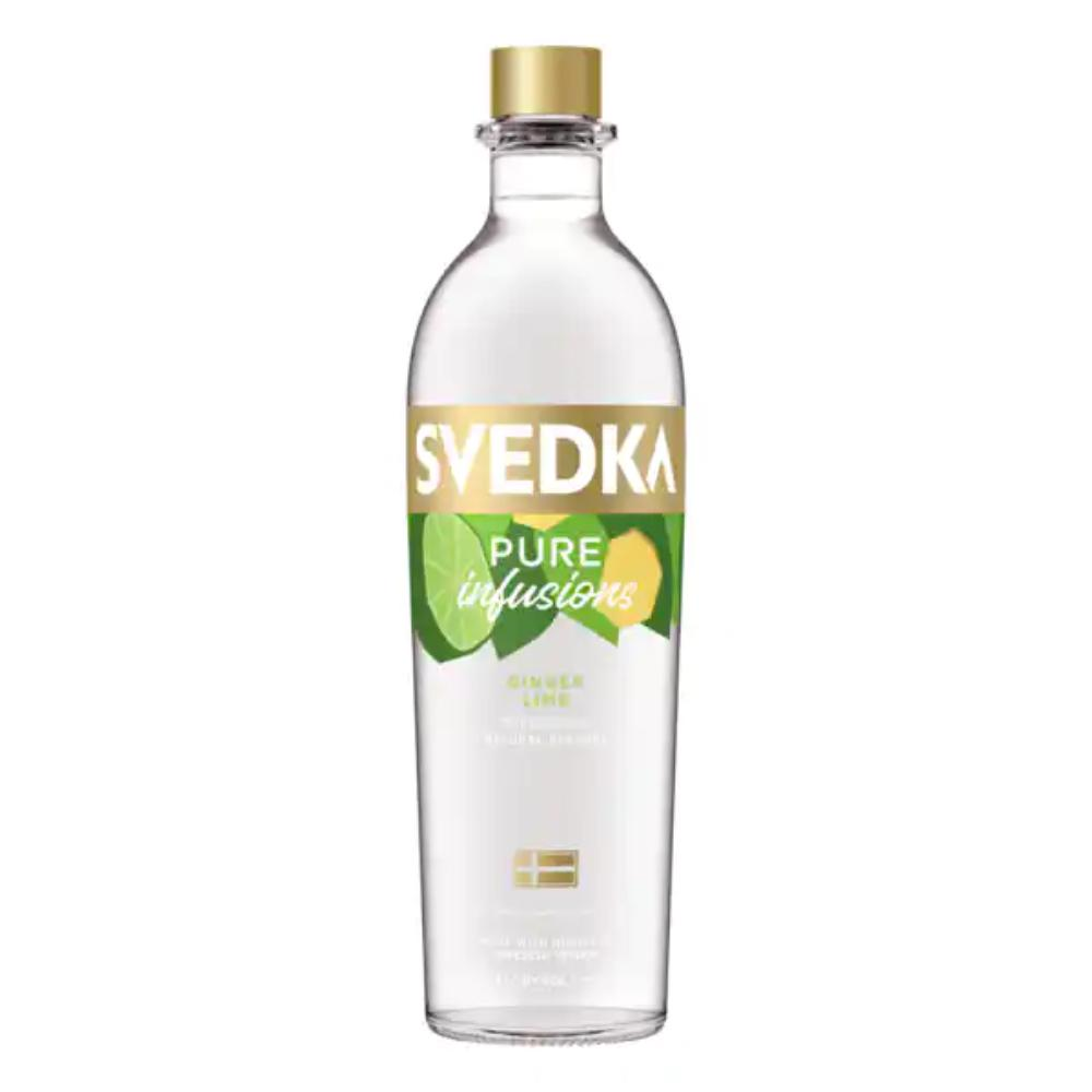 SVEDKA Pure Infusions Ginger Lime Vodka Svedka