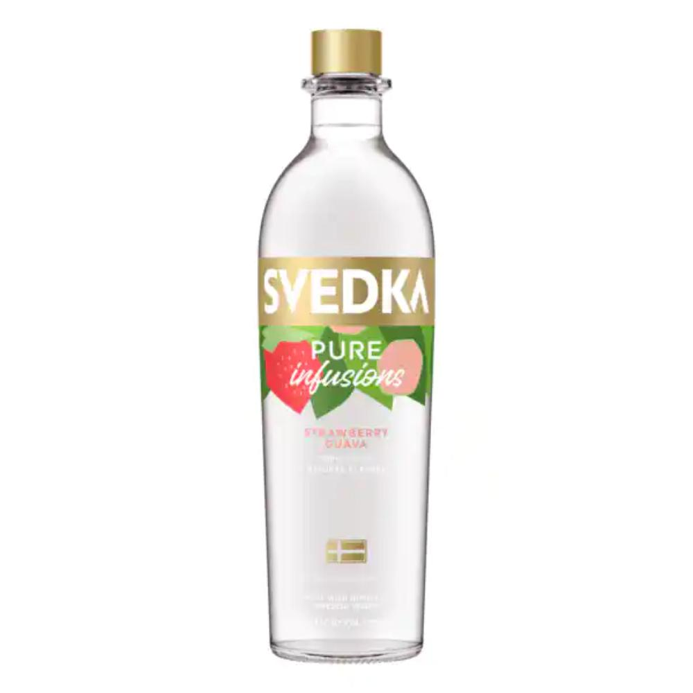 SVEDKA Pure Infusions Strawberry Guava Vodka Svedka
