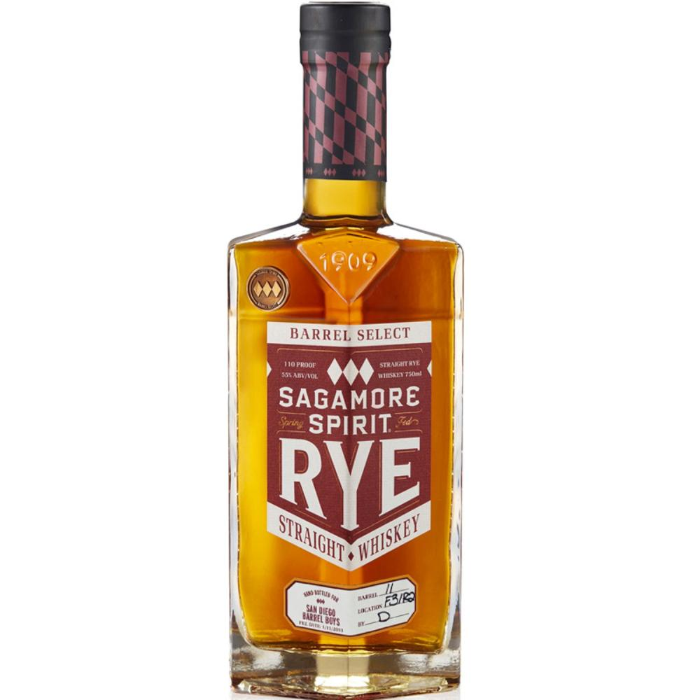 Sagamore Spirit Rye Barrel Select San Diego Barrel Boys Rye Whiskey Sagamore Spirit