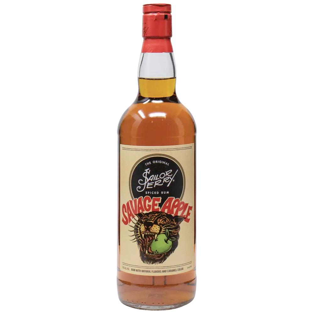 Sailor Jerry Savage Apple Spiced Rum Rum Sailor Jerry Spiced Rum