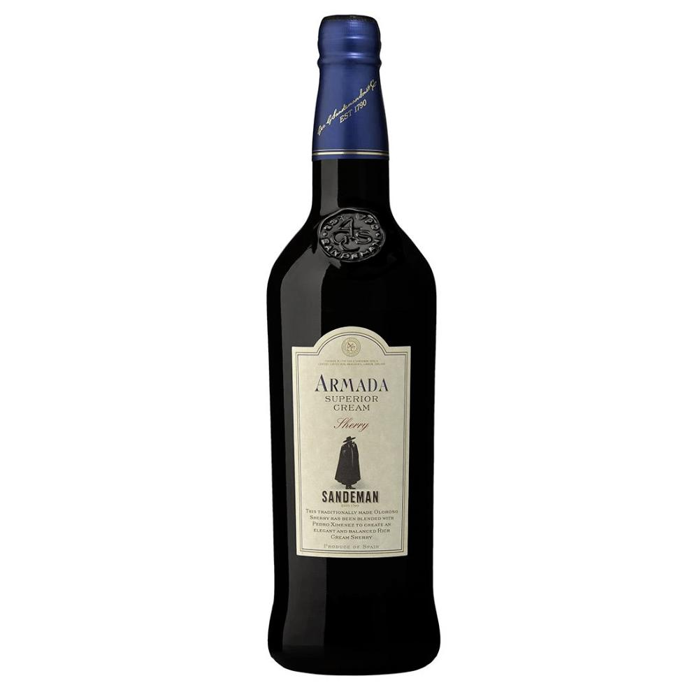 Sandeman Armada Superior Cream Sherry Wine Sandeman