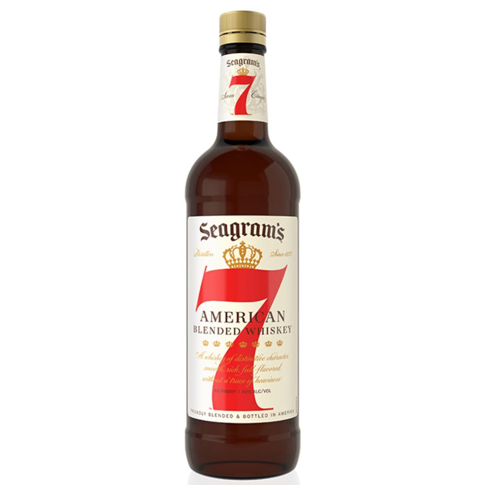 Seagram's 7 Crown Whiskey American Whiskey Seagrams