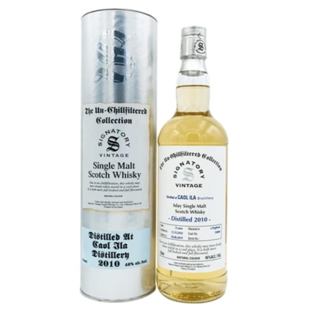 Signatory Single Cask Caol Ila 8YR (Cask #318694) Scotch Signatory