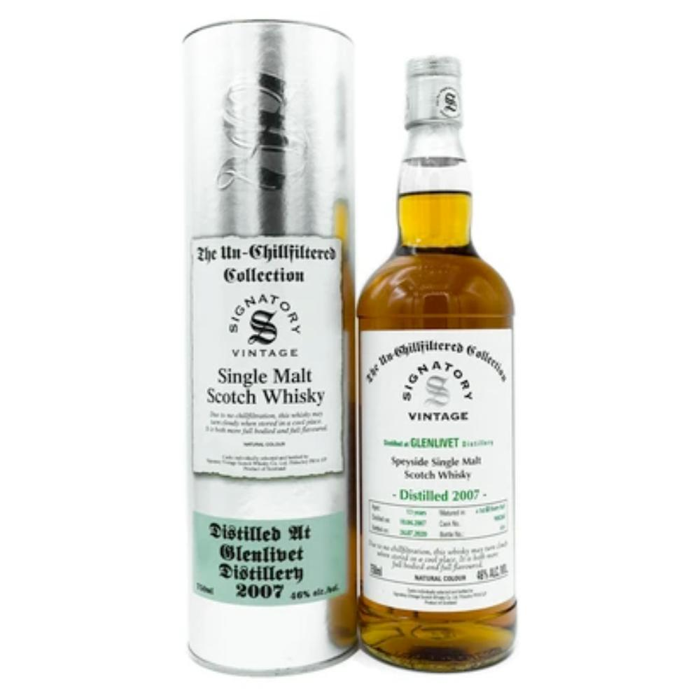 Signatory Single Cask Glenlivet 13YR (Cask #900268) Scotch Signatory