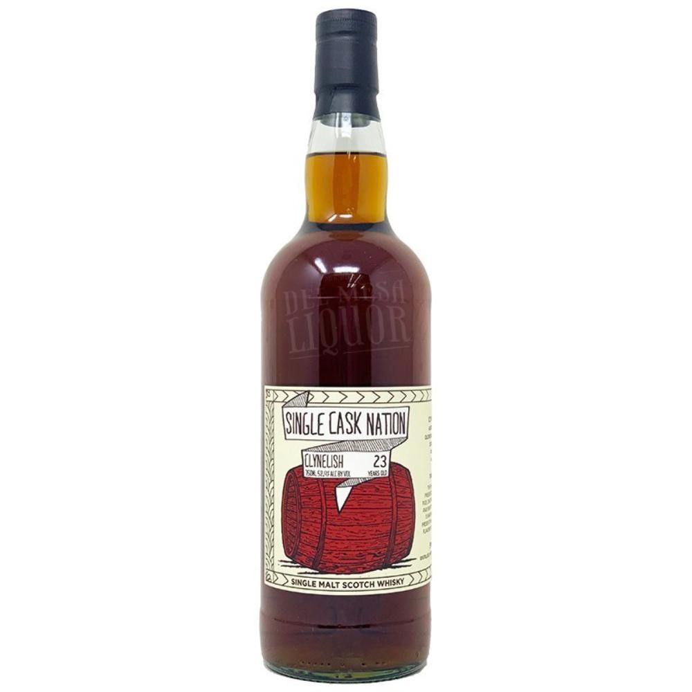 Single Cask Nation Clynelish 23 Year Old Scotch Whisky Single Cask Nation