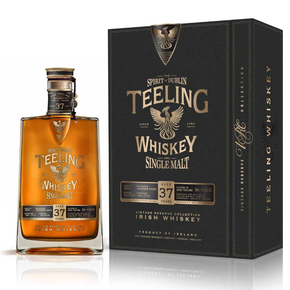 Teeling 37 Year Old Single Malt Irish whiskey Teeling Whiskey