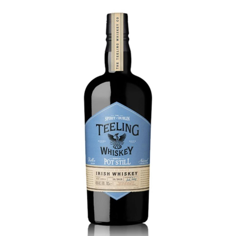 Teeling Single Pot Still Irish Whiskey Whiskey Teeling Whiskey