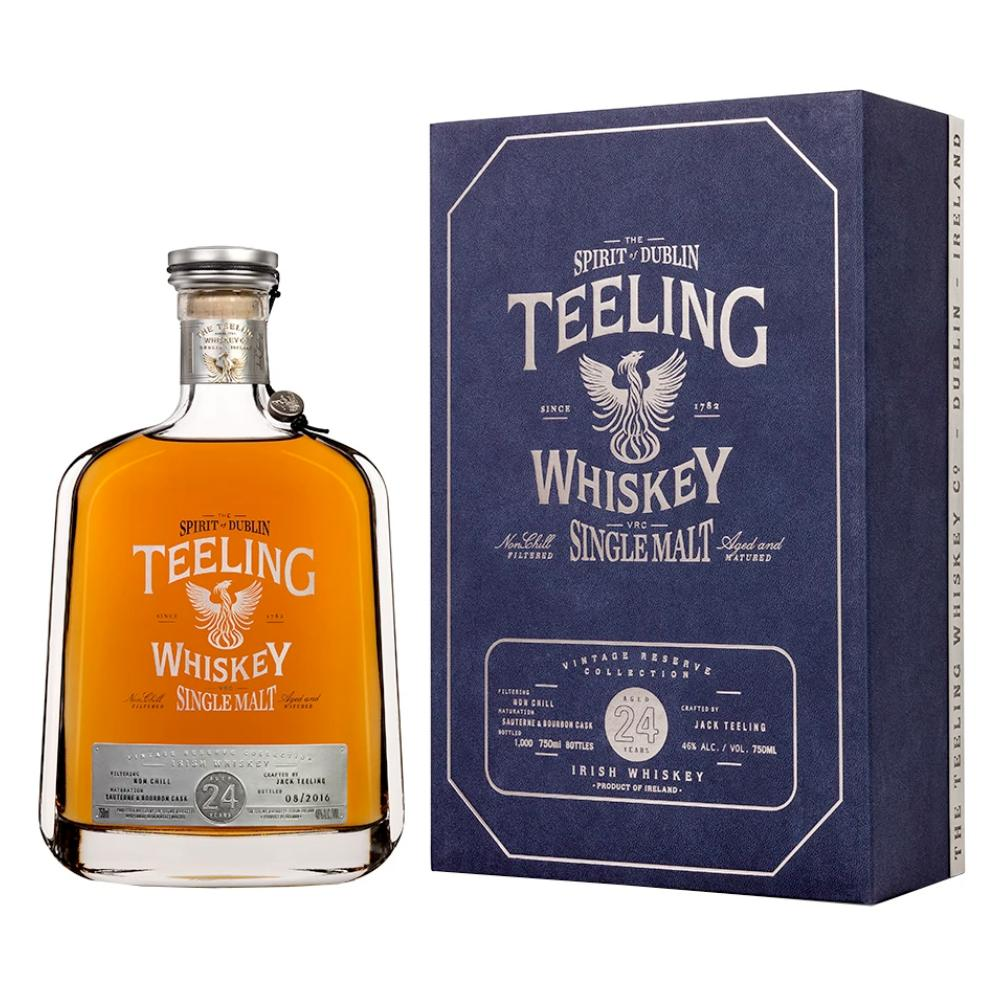 Teeling Whiskey 24 Year-Old Single Malt Irish whiskey Teeling Whiskey