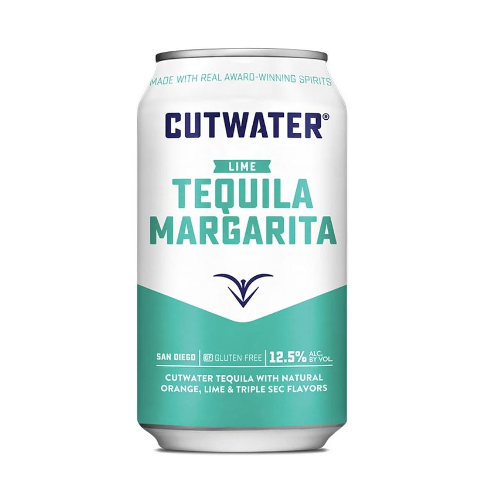 Tequila Margarita (4 Pack - 12 Ounce Cans) Canned Cocktails Cutwater Spirits